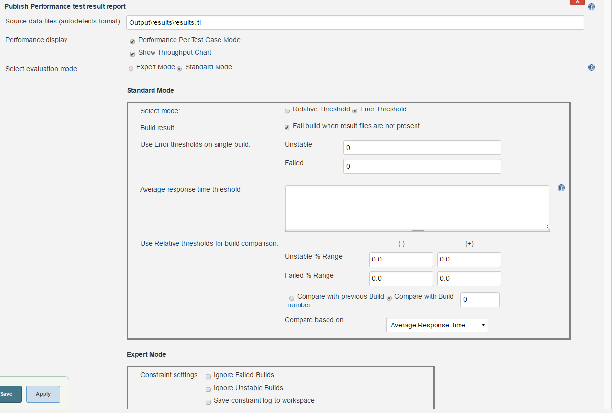 performance-plugin   Performance Test Running and Reporting